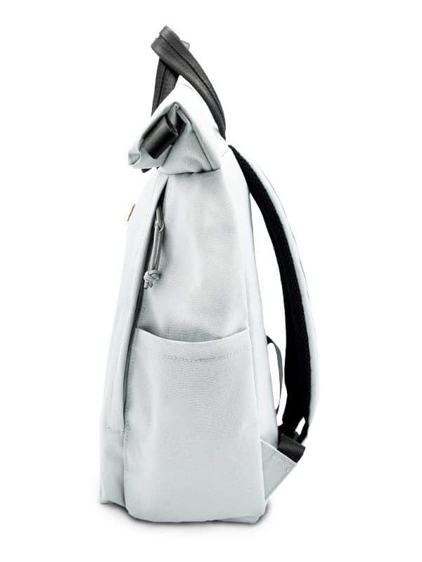 RANZN Rucksack Backpack Produktbild Seitenaufnahme Trinkhalterung