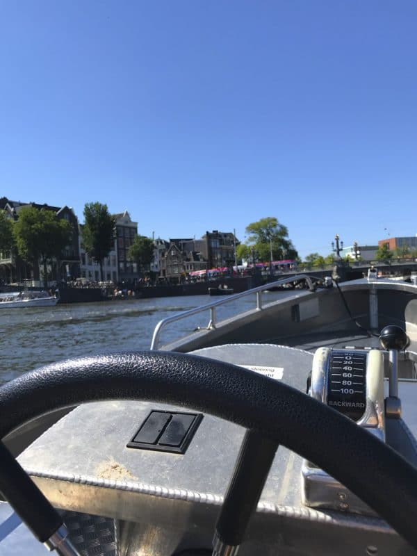 Bootstour durch Amsterdam